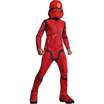 Déguisement classique rouge Sith Trooper enfant