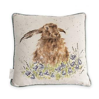 Wrendale Designs Bright Eyes Hare Cushion