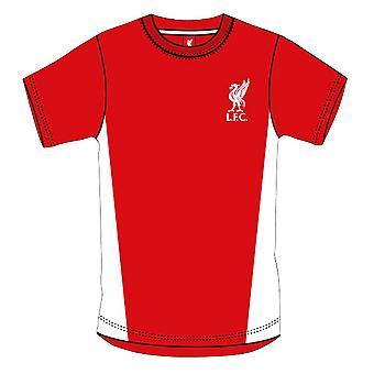 Liverpool FC Mens Official Short Sleeve Football Crest T-Shirt