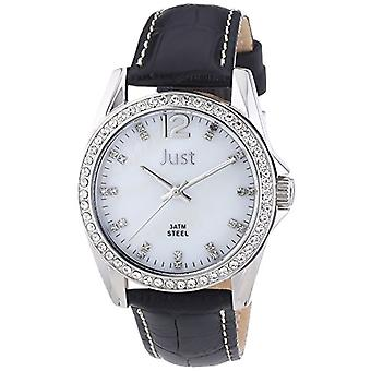 Just Watches Analog Quartz Wristwatch 48-S8194WH-BK