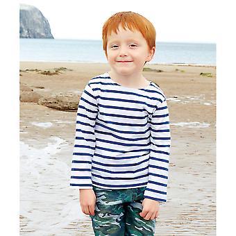 Lasten Jahoa - Lasten Lasten Breton Pitkähihainen T-paita