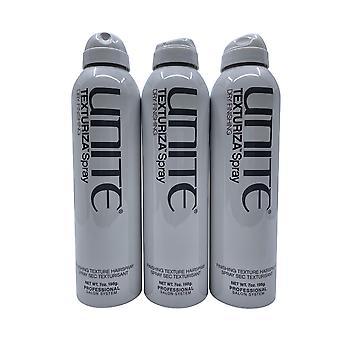 Unite Texturiza Spray Finishing Texture Spray 7 OZ Set of 3