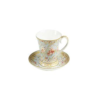 Cup With Plate Bone China Porcelain