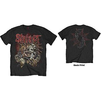 Slipknot - Zerrissenes Apart Unisex Medium T-Shirt - Schwarz
