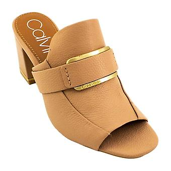 Calvin Klein Femmes Corinne Peep Toe Mules