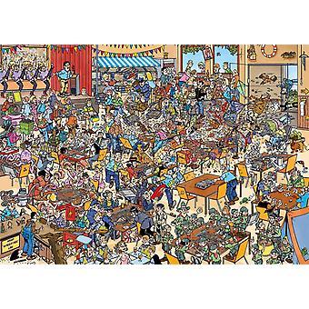 Jan van Haasteren National Championships Puzzling  Jigsaw Puzzle (1000 Pieces)