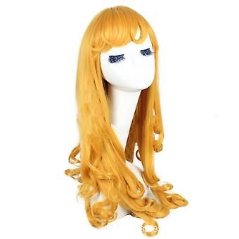 Princess Aurora Anime Wigs Long Curl Synthetic Hair Wigs