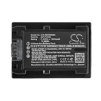 Cameron Sino Sdx500Mc Battery Replacement For Sony Camera