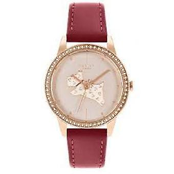 Radley Ry21184 Gold Dial Leather Strap Ladies Watch