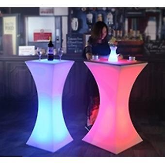 No Glass Led Bar Table