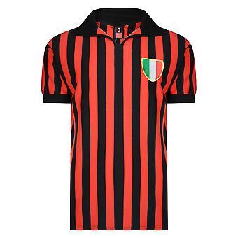 Poängdragning AC Milan 1963 Retro Fotbollströja
