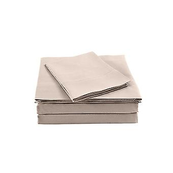 Royal Comfort Bamboo Blended Sheet And Pillowcases Set Queen
