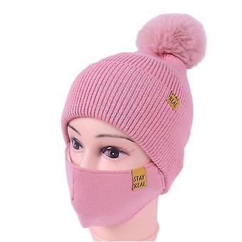 Knitted Hat with Mask