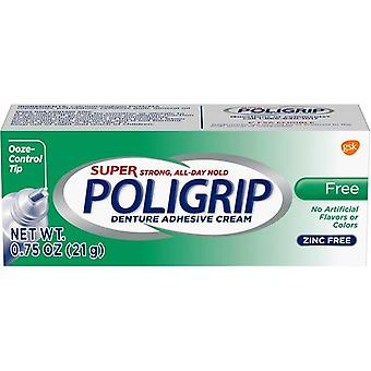Super Poligrip Free Travel Size, 0.75-Ounce Package