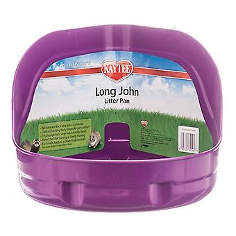 "Kaytee Long John Litter Pan - High Sided - 11""L x 9""W x 6""H"