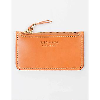 Red Wing 95030 Zipper Pouch Wallet - Vegetable Tanned