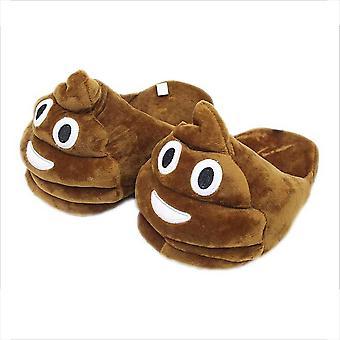 Poop Papuče Fuzzy plnené topánky Funny Cosplay kostýmy pre dospievajúcich dospelých 38-44 OneSize