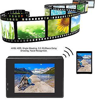 Водонепроницаемая спортивная камера Full Hd 1080p Камера 2.0 Lcd Wifi Автомобильный видеорегистратор
