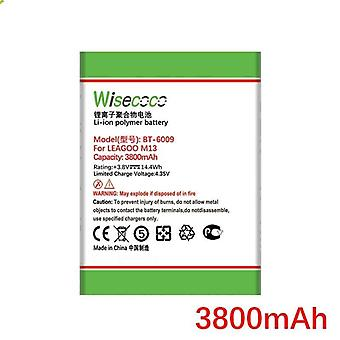 Wisecoco 3800mah Bt-6009 Battery For Leagoo M13 Mobile Phone In Stock High