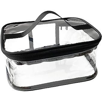 Kosmetiktasche Kosmetik Transparente Tasche Tragbare wasserdichte transparente Reisetasche Große Aufbewahrung