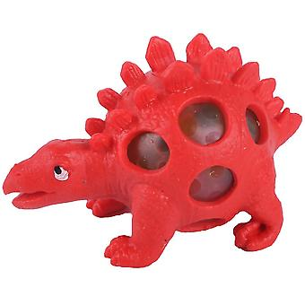 Dinosaur Squishy Ball Funny Fidget Toys Stress Relief Toys Red