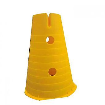 Cônes de circulation en plastique Venalisa, cônes d'activité sportive polyvalents pour enfants 2 Pack