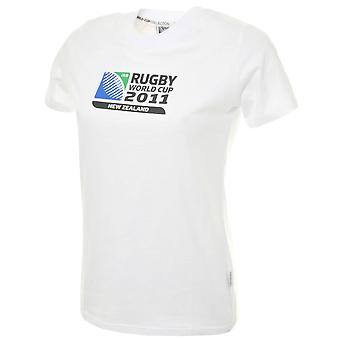 CCC Rugby World Cup 2011 Women's Logo T-Shirt [white]