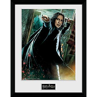 Harry Potter Snape Wand inramade Collector Print