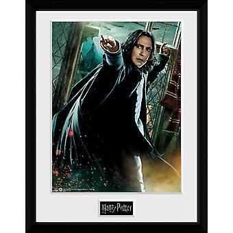 Harry Potter baguette de Snape encadrée Collector Print