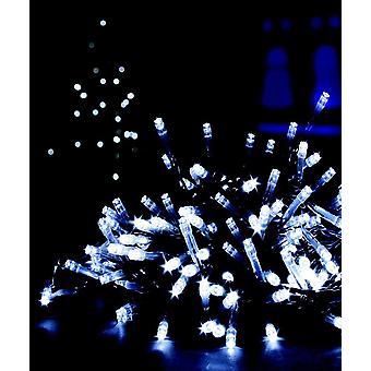 200 LED valkoinen Multi toiminta Xmas Decoration sisä- tai ulkotiloissa jouluvalot