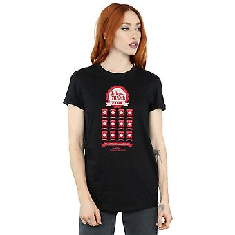National Lampoon's Christmas Vacation Women's Jelly Club Boyfriend Fit T-Shirt
