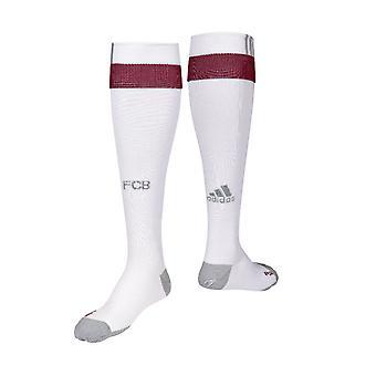 2016-2017 Bayern Munich Football Adidas UCL chaussettes (blanc)