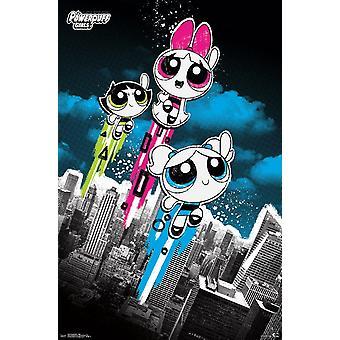 Powerpuff Girls - Flight Poster Print