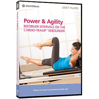 Power & Agility: Reformer Intervals on the Cardio [DVD] USA import