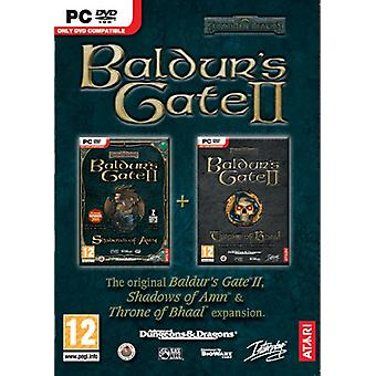 Baldurs Gate 2 II - Shadows Of Amn Throne of Bhaal Double Pack (PC DVD) - Neu