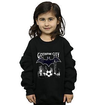 DC Comics meninas Batman futebol Gotham City moletom