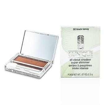 Clinique All About Shadow - 02 Miele Nero (super Shimmer) - 2.2g/0.07oz