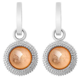Orphelia Silver 925 Earring Rose blad ZO-6041/1