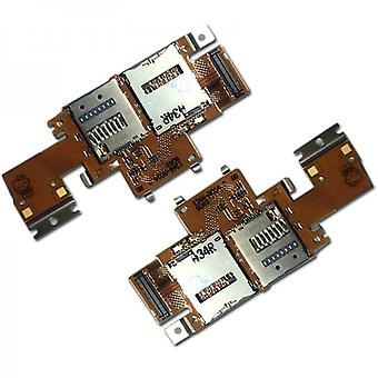 For Sony Xperia Tablet Z SIM card module + micro SD module Flex cable