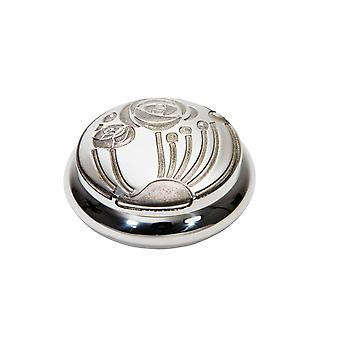 Charles Rennie Mackintosh Pewter Trinket Box
