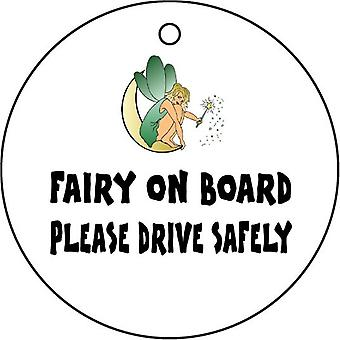 Fairy On Board Car Air Freshener
