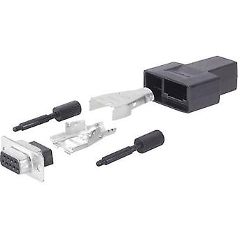 TE Connectivity AMPLIMITE HD-20 (HDP-20) 1658656-1 D-SUB gniazdo 180 ° Liczba pinów: 15 1 szt.)
