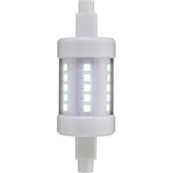 Sygonix LED (monochrome) EEC A+ (A++ - E) R7s Tubular 4.5 W = 40 W Cool white (Ø x L) 27 mm x 78 mm 1 pc(s)