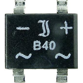 Diotec B250S-SLIM Diode broen så 4 SLIM 600 V 1 A 1-faset