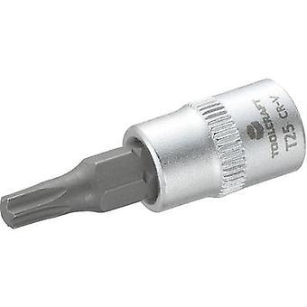 TOOLCRAFT T27 816084 Torx bitar T 27 1/4 (6,3 mm)