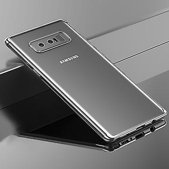Matkapuhelin kansi tapauksessa Samsung Galaxy touch 8 avoin avoin hopea