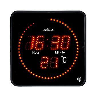 LED wall clock radio Atlanta - 4463