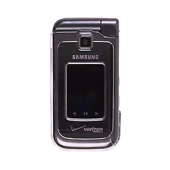 Snap On Clip Case for Samsung U750 Alias 2 - Clear (Bulk Packaging)