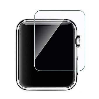 Stuff Certified® 42mm Tempered Glass Clear Screen Protector for iWatch Series 1/2/3