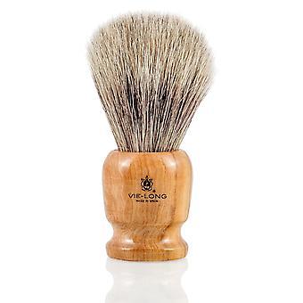 Vie lange 16256 grå Badger barbering pensel